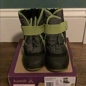 Kamik Shoes - Kamik Snowbug3 Snow Boot Faux Fur Lining